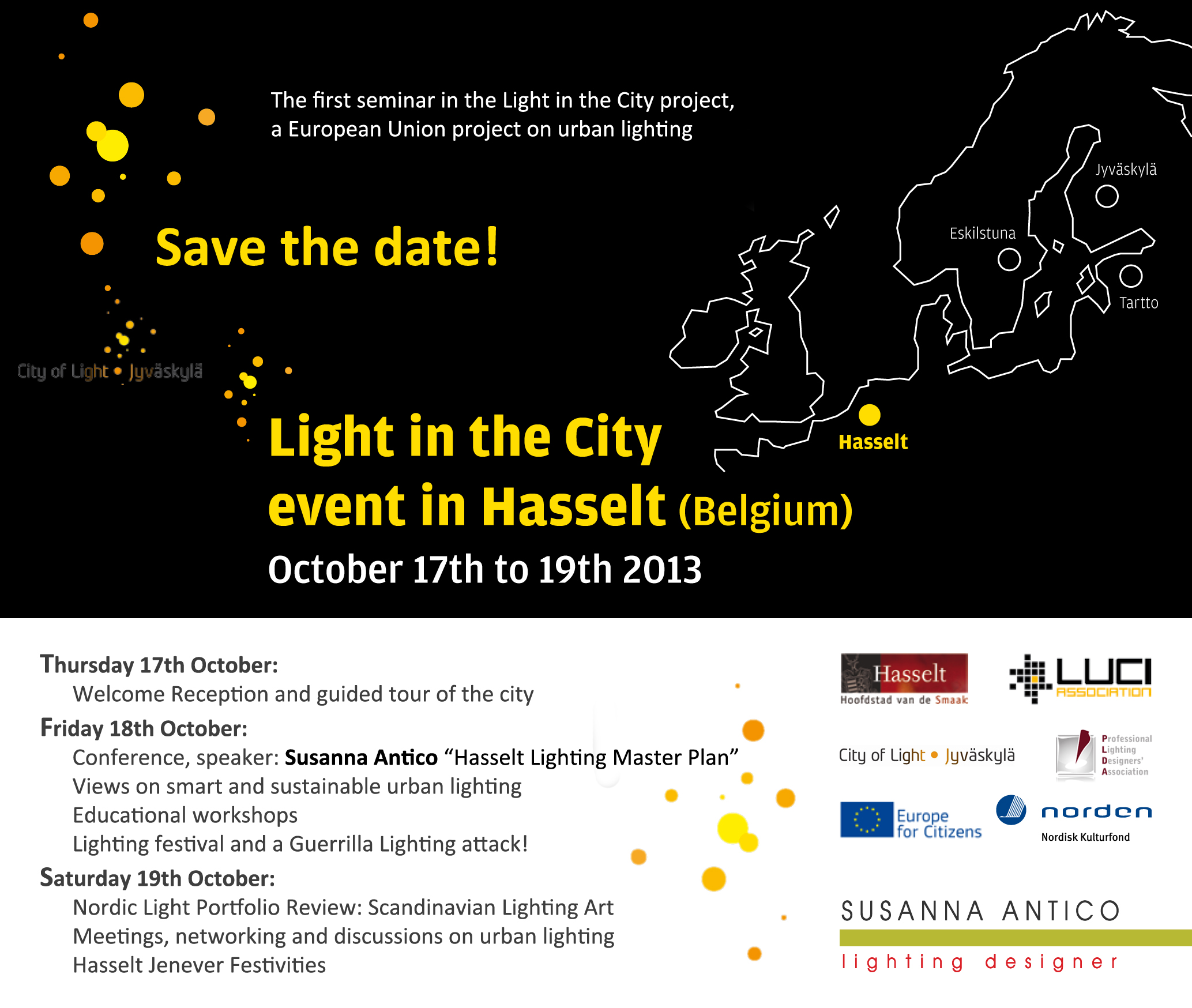 Light in the City - Event in Hasselt