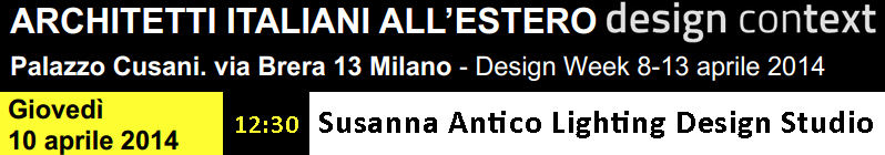 Susanna Antico at Design Week 2014